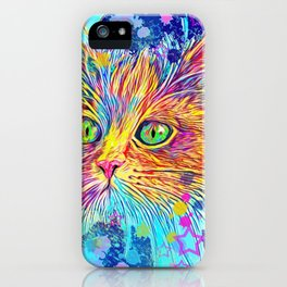 Ginger Tom iPhone Case