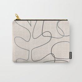 Abstract Line II Carry-All Pouch