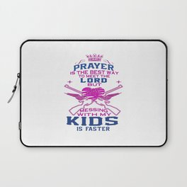 Messing with my Kids Laptop Sleeve