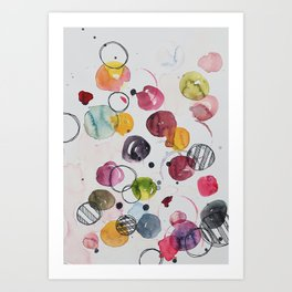 Abstract V: Lazy Sunday afternoon Art Print