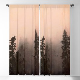 Deep in Thought - Forest Nature Photography Blackout Curtain