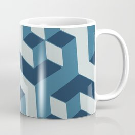 Blue dimension Coffee Mug