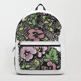 Female Floral Backpack