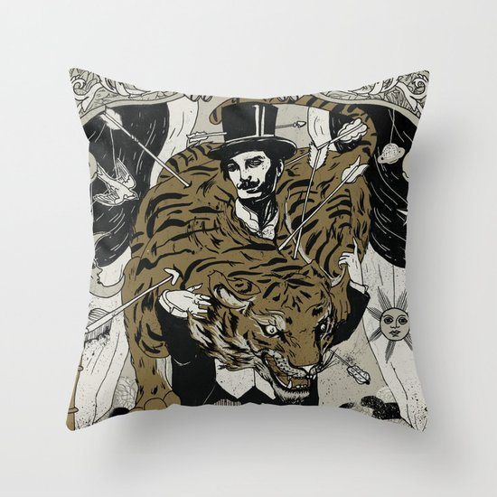 The tamer Throw Pillow