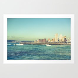 Morning Surf Art Print