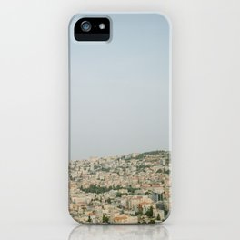 Morning over Nazareth - Fine Art Travel Photography iPhone Case