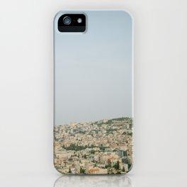 Morning over Nazareth - Fine Art Travel Photography iPhone Case