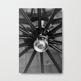 wheel carriages Metal Print