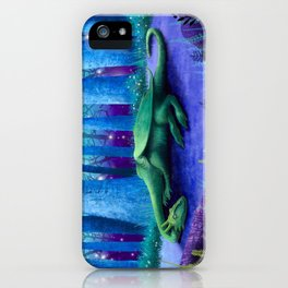 The Sleeping Dragon iPhone Case
