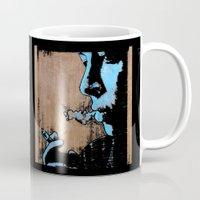 smoke Mugs featuring SMOKE by ARTito