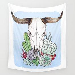 Steer Skull Wall Tapestry