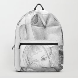 In his arms Backpack