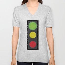 Traffic Light Unisex V-Neck