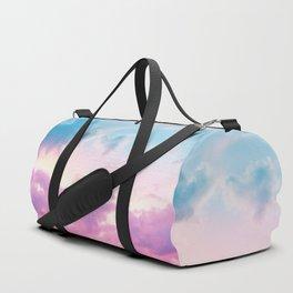 Unicorn Pastel Clouds #3 #decor #art #society6 Duffle Bag