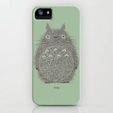 Green Totoro Slim Case iPhone (5, 5s)