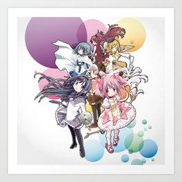 Puella Magi Madoka Magica - Only You Art Print