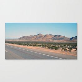 Nevada Road Canvas Print