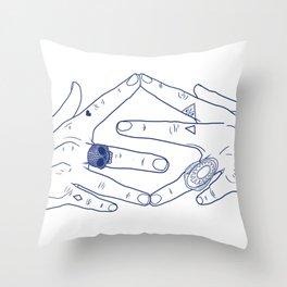 Make My Hands Famous - Part IV Throw Pillow