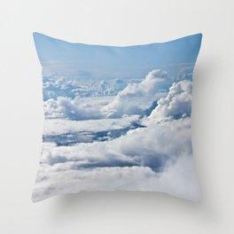 Arctic Clouds Throw Pillow