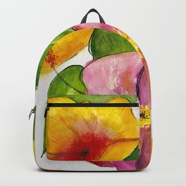 Hibiscus Flowers Backpack