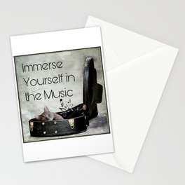 Milonga Cat - Immerse Yourself in the Music Stationery Cards