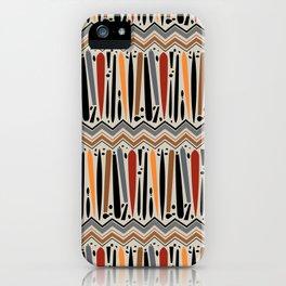 Moth Chevron iPhone Case