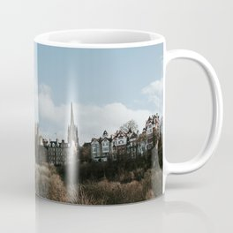 Royal Mile from Princess Street | Colourful travel photography | Edinburgh, Scotland Coffee Mug