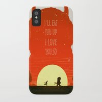 wild things iPhone & iPod Cases featuring Wild Things by Duke Dastardly