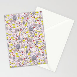Cute Rats Stationery Cards