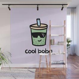Cool Boba Wall Mural
