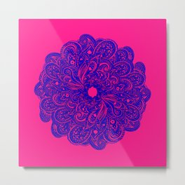paisley play Metal Print
