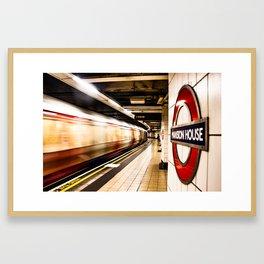 London Tube - Great Britain - UK Framed Art Print
