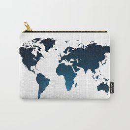 Heaven Meets Earth - Galaxy World Map Carry-All Pouch