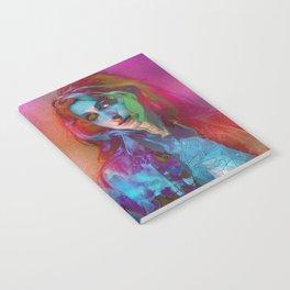 Galaxy Grunge Notebook