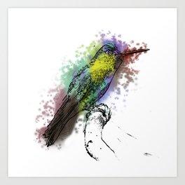 may my heart always be open to little birds Art Print