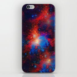 Space dementia iPhone Skin
