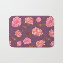 Carnations & Crickets Bath Mat