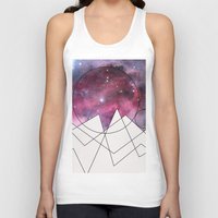 outer space Tank Tops featuring Outer Space by FlurinaJT