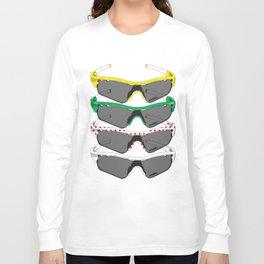 Tour de France Glasses Long Sleeve T-shirt