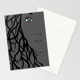 Nieta Galaxy Eyes Half Stationery Cards