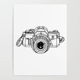 35mm SLR Poster