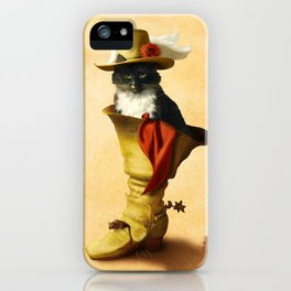 Little Puss in Boots iPhone Case
