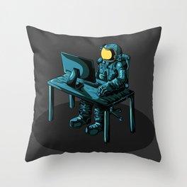 An astronaut Throw Pillow