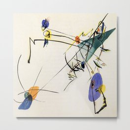 Wassily Kandinsky Simple Metal Print