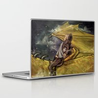 niall Laptop & iPad Skins featuring Dragon Series: Niall by Cyrilliart