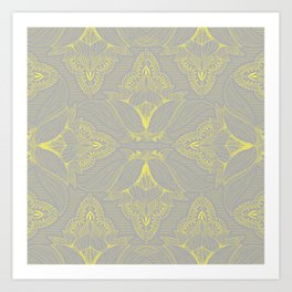 Flower Mandala 15 Art Print