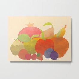 A Bundle of Fruit Metal Print