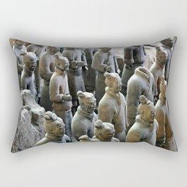 Terra Cotta Warriors  Rectangular Pillow