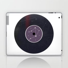 Vinyl Record Star Sign Art | Libra Laptop & iPad Skin