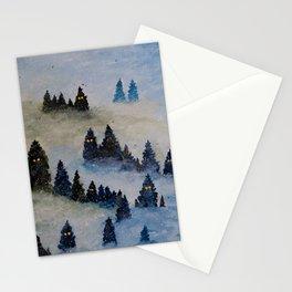 Trollen i snotackta skogen Stationery Cards